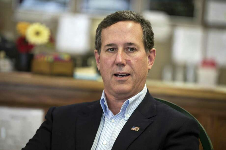 A reader criticizes former Sen. Rick Santorum for saying student protesters should focus on learning CPR instead of advocating gun control legislation. Photo: Evan Vucci /Associated Press / Copyright 2018 The Associated Press. All rights reserved.