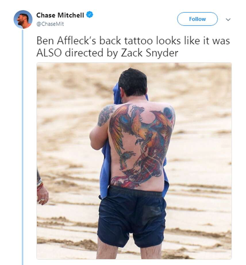 Source: TwitterBrowse through the photos for more hilarious tweets with Ben Affleck memes.  Photo: Twitter