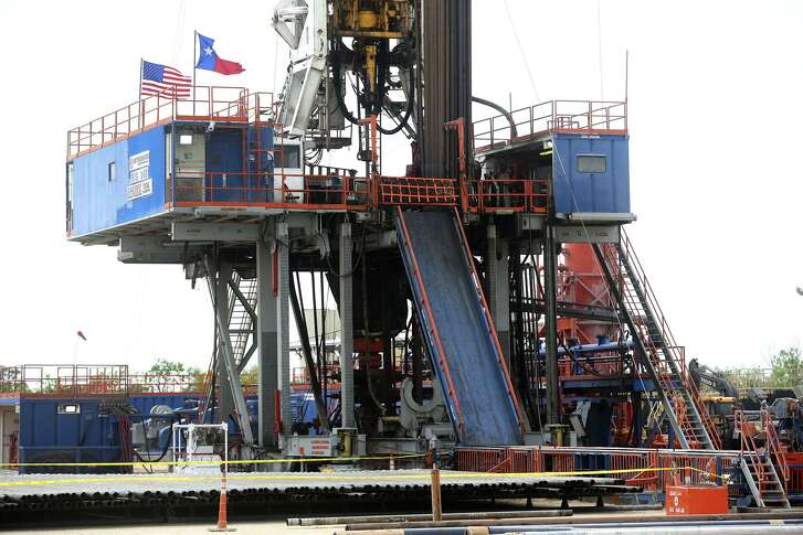 This is the Patterson 248 oil well operated by the recent Magnolia Oil & Gas EnerVest merger located in south central Texas.