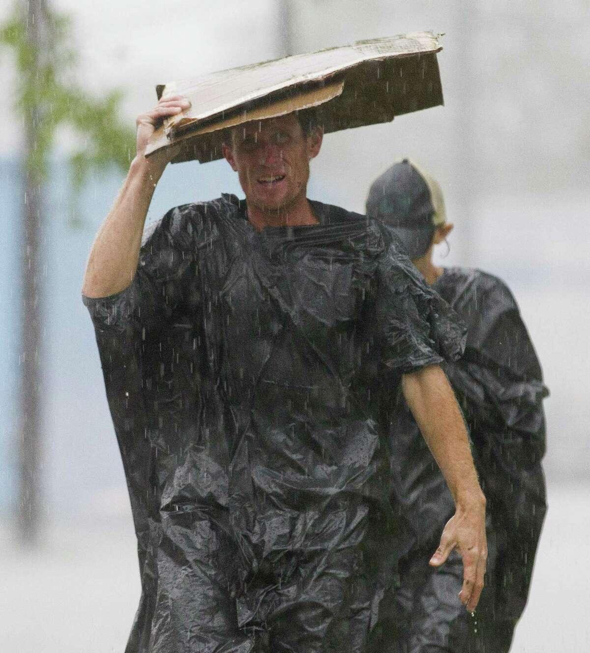 Heavy rain soaks Montgomery County, Wednesday, March 28, 2018.