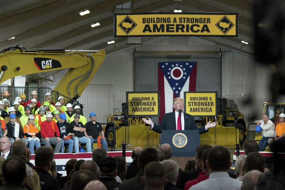 Trump S Ohio Speech To Promote Infrastructure Ranges Widely From
