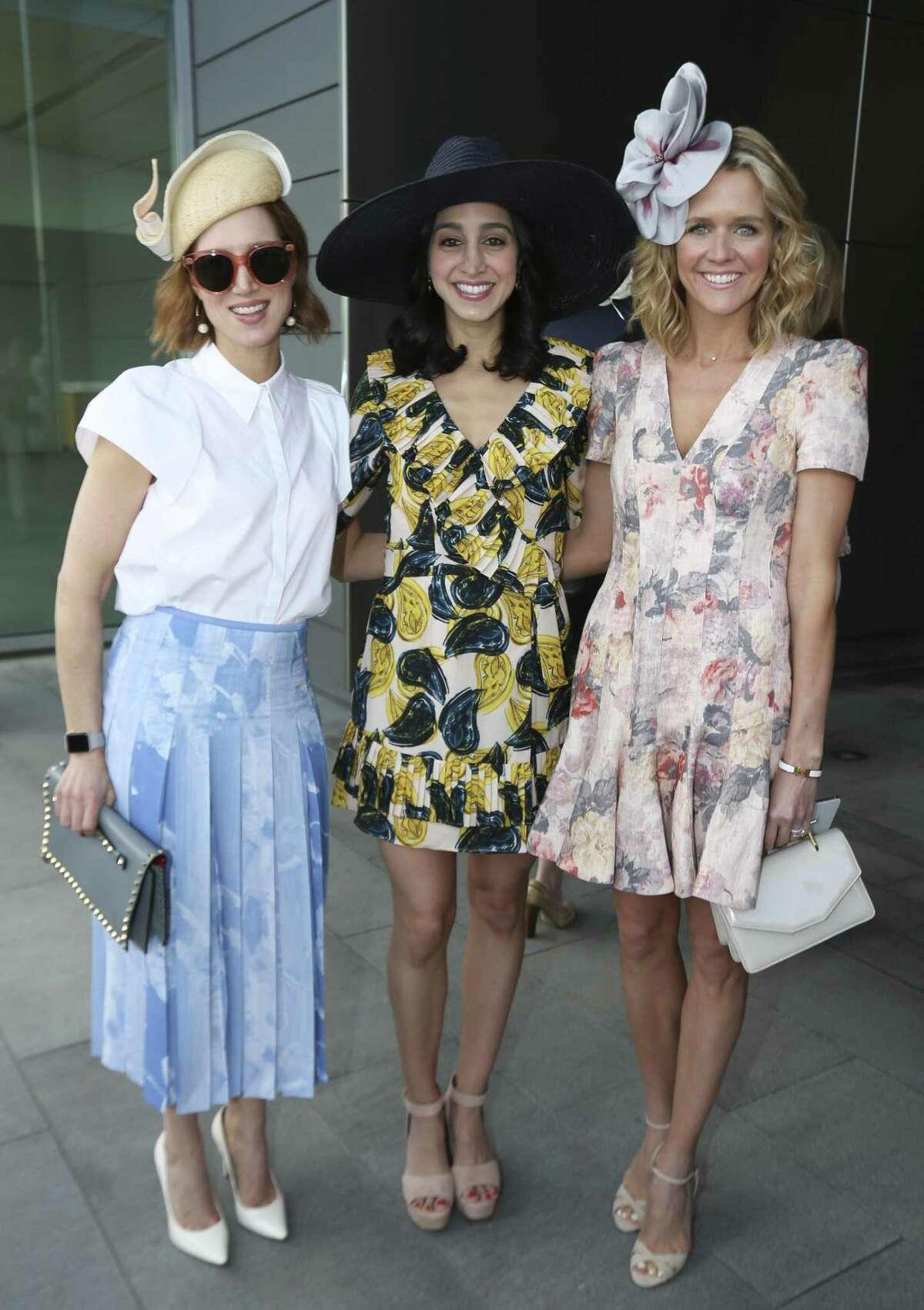 Carolyn Dorros, from left, Holly Radom and Lyndsey Zorich