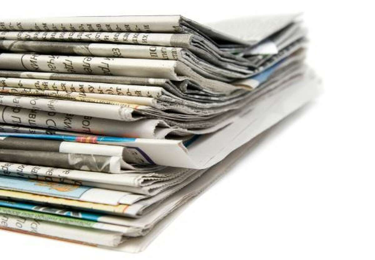 Newspapers, magazines, color ad inserts and office paper can go in the bin.
