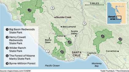 The 5 best spots around Santa Cruz to see redwoods ... Bear Creek Road Santa Cruz Map on barstow road map, kapaa road map, seaside road map, red rock canyon road map, temecula road map, occidental road map, bloomington road map, sebastopol road map, oakland road map, las marias road map, simi valley road map, cupertino road map, pleasant hill road map, florin road map, white sands missile range road map, napa county road map, manzini road map, oceanside road map, vacaville road map, san fernando road map,