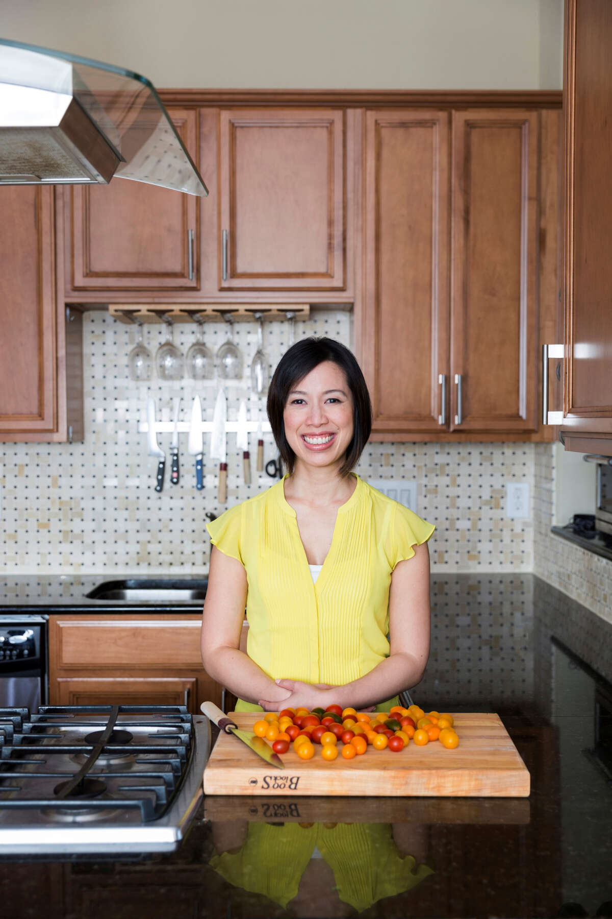 """Houstonian Christine Ha, winner of Season 3 of """"MasterChef,"""" will open her first restaurant, the Blind Goat, at Bravery Chef Hall in downtown Houston. She is the author of """"Recipes from My Home Kitchen: Asian and American Comfort Food."""""""
