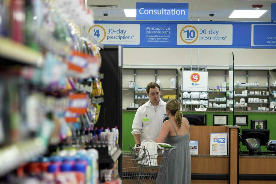 Walmart is in discussions to acquire the Louisville, Ky.-based health insurance giant Humana, according to a Wall Street Journal report published March 29, 2018. Photo: Sarah Bentham / Associated Press / FR171072 AP
