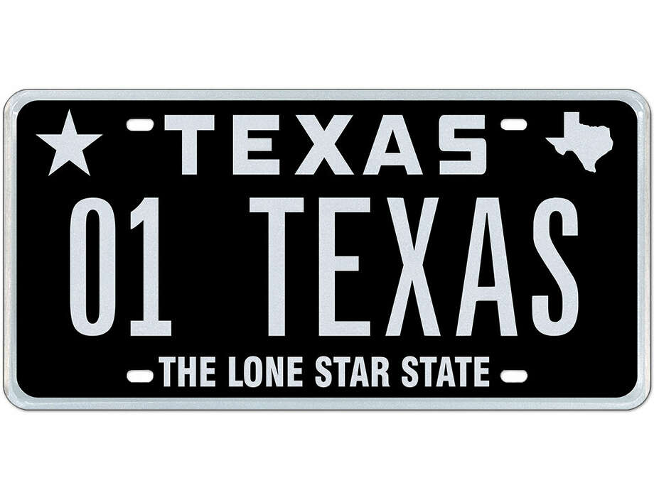 texas based company auctioning 50 rare license plates houston chronicle. Black Bedroom Furniture Sets. Home Design Ideas