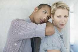 A man hope that a woman colleague will turn their flirtations into romance.