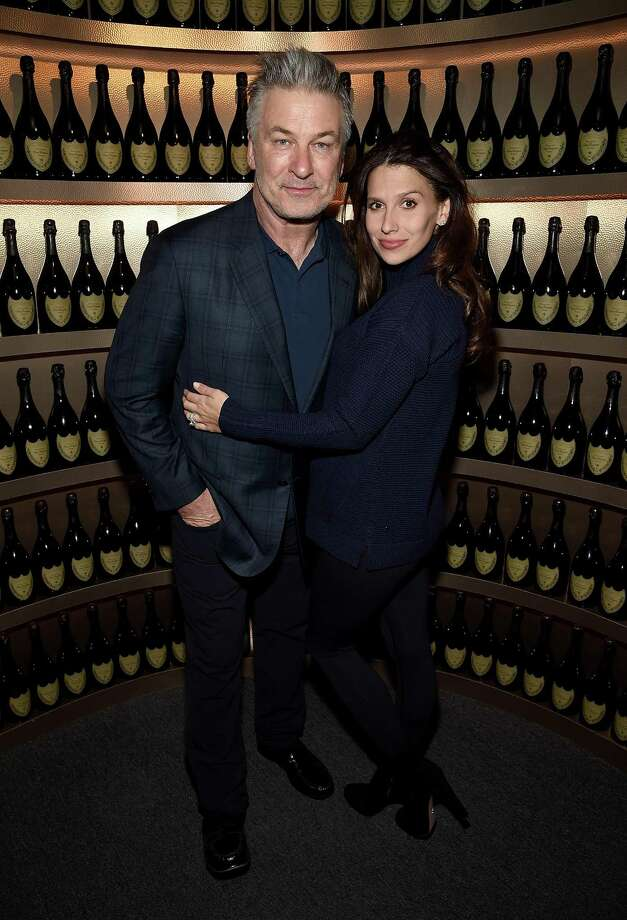 "Alec and Hilaria Baldwin at the Santa Barbara International Film Festival in California on Jan. 31. Alec will star in ""Love Letters"" for one night only, April 12, at the Westport Country Playhouse. Photo: Michael Kovac / Getty Images For Dom Perignon / 2018 Michael Kovac"