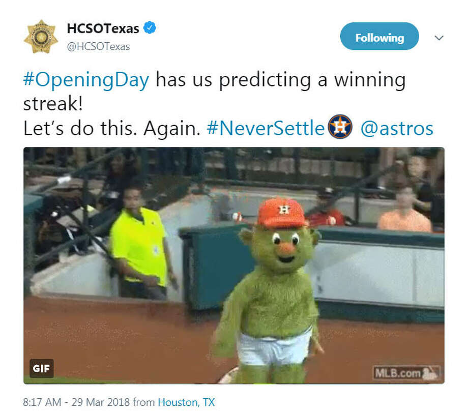 The Best Neversettle Tweets From Astros Opening Day San Antonio