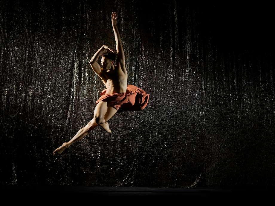 Michael Mongtomery in Alonzo King Lines Ballet's new work.  Photo: RJ Muna Photo: RJ Muna