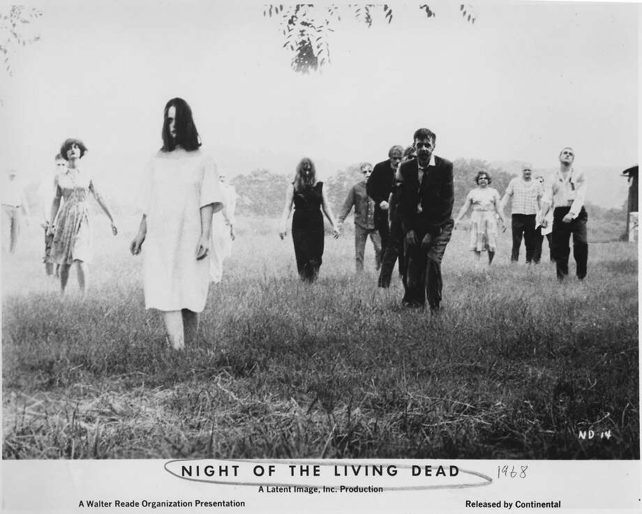 NIGHT OF THE LIVING DEAD.  movie.  1968 SCARY ZOMBIES.  HOUCHRON CAPTION (03/23/2004):  Night of the Living Dead. Photo: Continental Distributing 1968