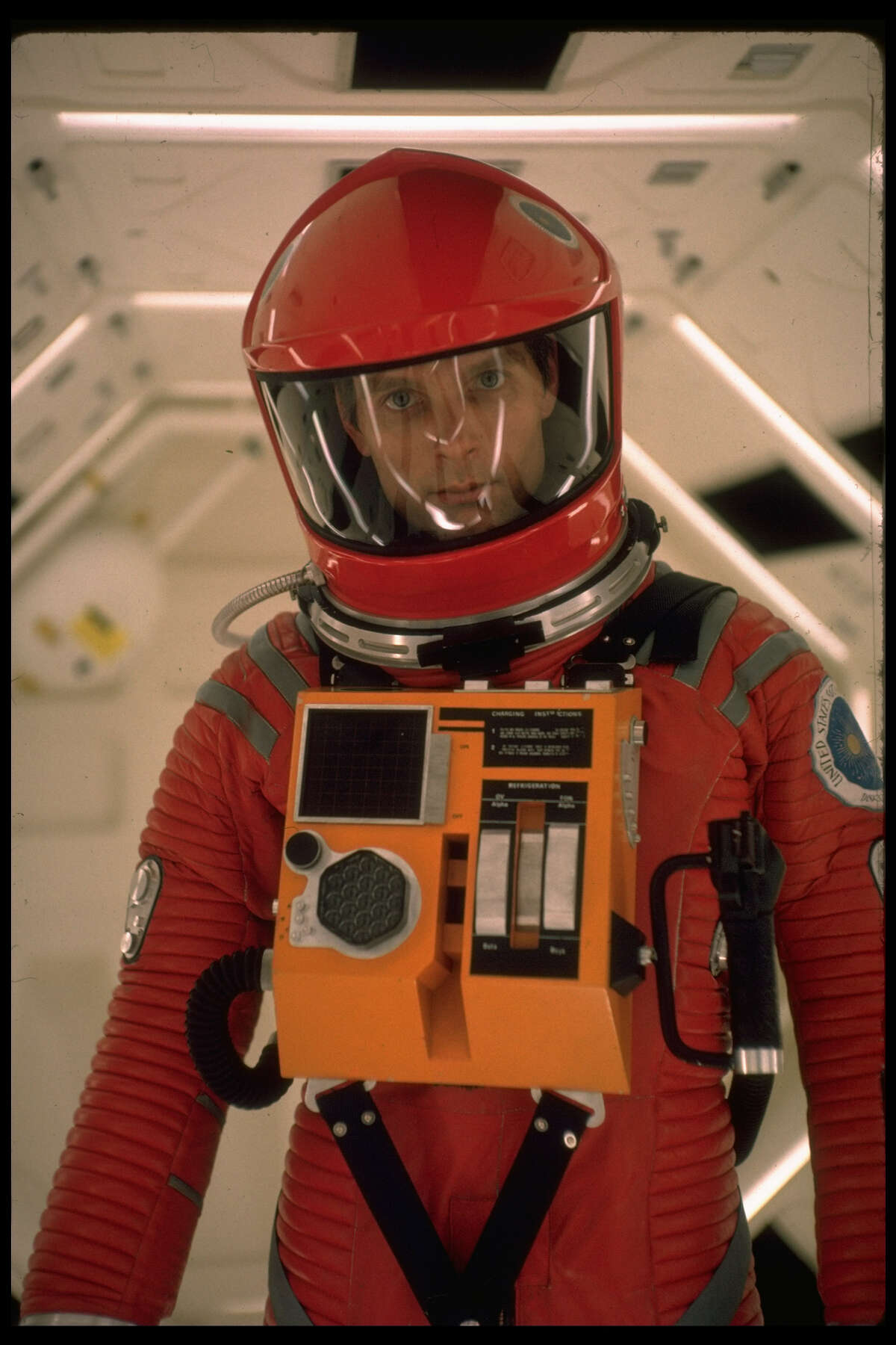 'Open the pod bay doors, HAL'Dave Bowman orders HAL 9000, the mutinous ship's computer. The line is ranked No. 66 of theAmerican Film Institute's 100 greatest movie quotes. HAL's chilling reply?