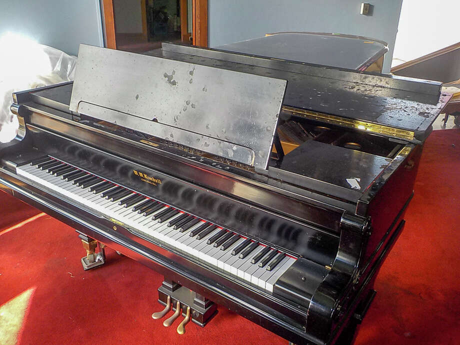 Kink is moving out of the Armory in San Francisco, so the company is holding an estate sale April 6-10, 2018. Pictured is a grand piano up for grabs.Scroll ahead to see some of the odder items for sale at the Kink Estate Sale. Photo: Photograph Courtesy Of Kink