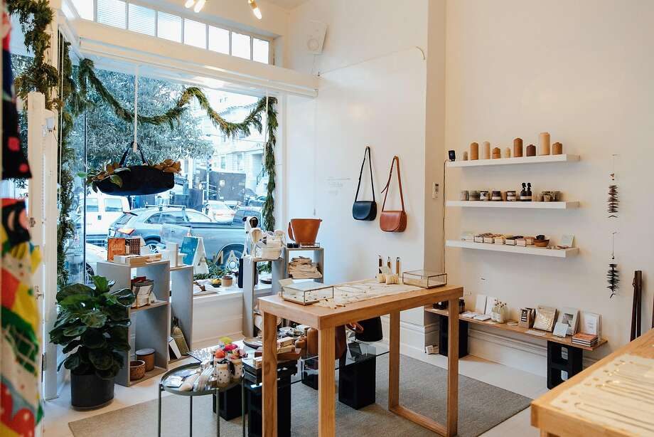 Baana, a new S.F. gathering space, has hosted pop-ups featuring art, accessories and home decor items. Photo: Melissa Ryan