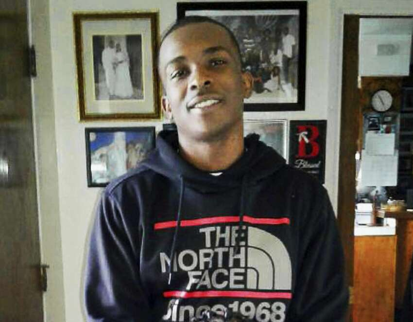 This March 18, 2018 photo, courtesy of the family, shows Stephon Clark at 5:20 p.m. in the afternoon before he died in a hail of police gunfire in the backyard of his grandmother Sequita Thompson's home in Sacramento, Calif. On Monday, March 26, Thompson called for changes in the way police confront suspects, such as sending in a police dog, using a Taser, or aiming for an arm or leg when shots are fired. (Family courtesy photo via AP)