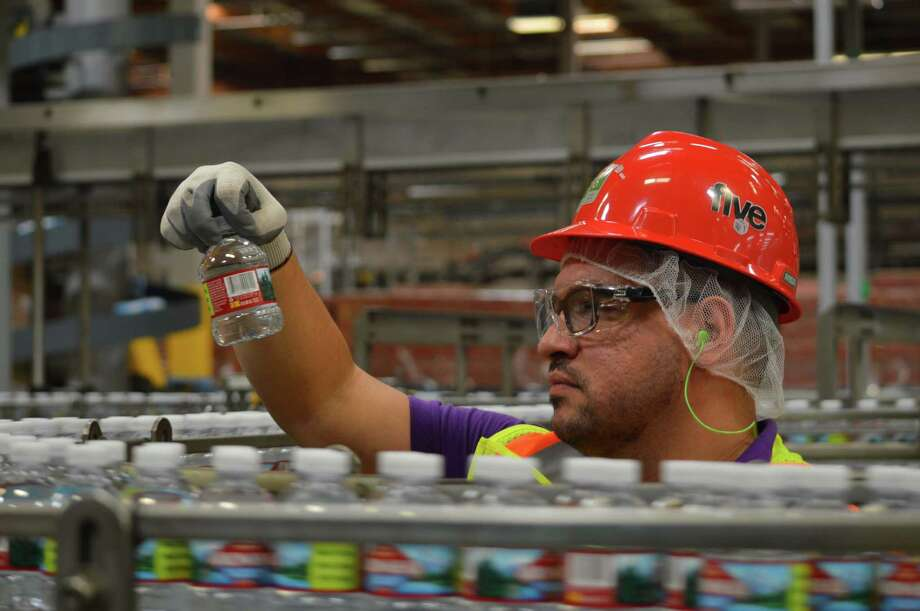 Nestle Waters North America's factory in Ontario, Calif., has been certified for its sustainability efforts by the Alliance for Water Stewardship. Photo: Contributed Photo
