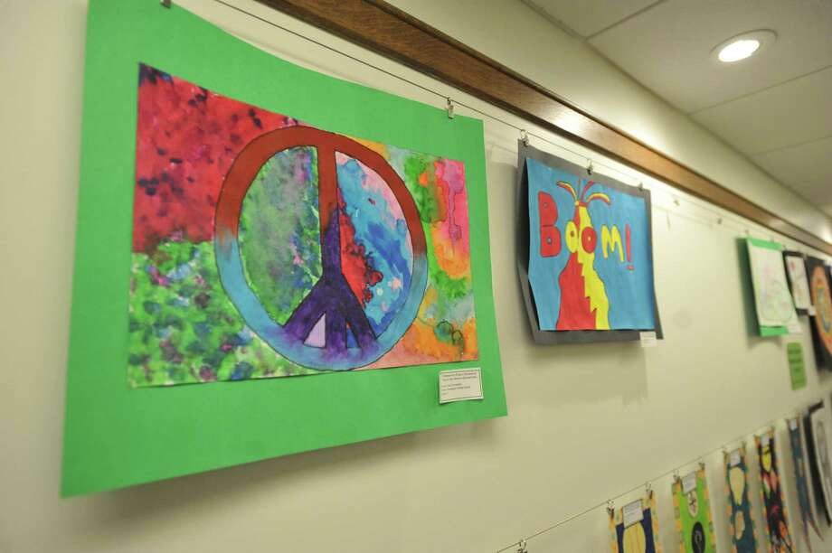 Torrington students shared their artistic talents with the community through a district-wide art show, which concluded this week. Photo: Ben Lambert / Hearst Connecticut Media
