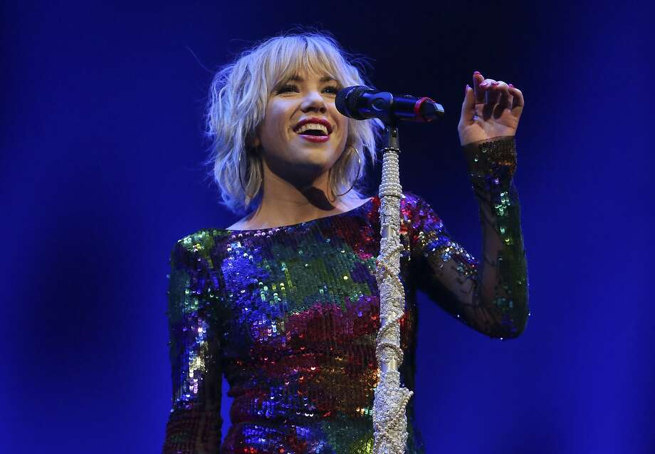 Carly Rae Jepsen She's the one who asked you to call her, maybe  Photo: Yi-Chin Lee, Houston Chronicle