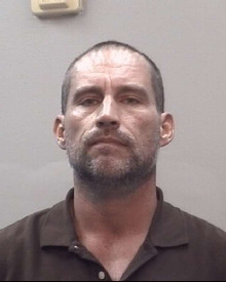 Stephen McGee, 44, is accused of stalking an ex-girlfriend and posting nude photos of the victim on a public Facebook page. The alleged stalking occurred over a period of several months from December 2017 to March 2018. Photo: Webster Police Department