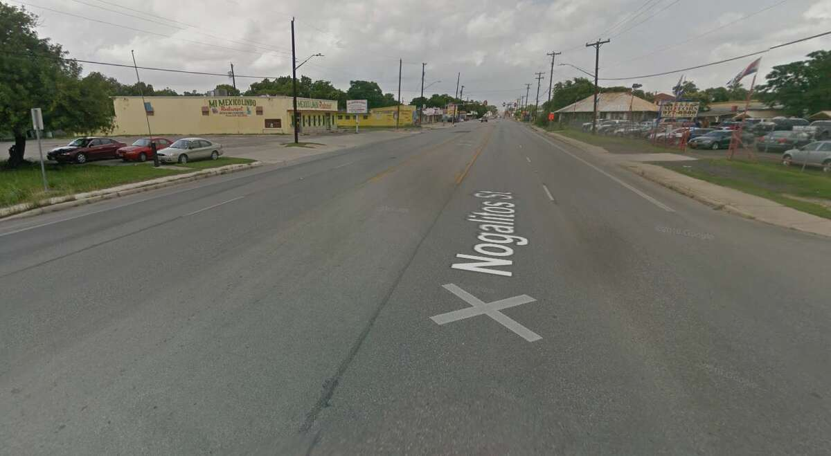 Google maps show the area of the 3800 block of Nogalitos Street.
