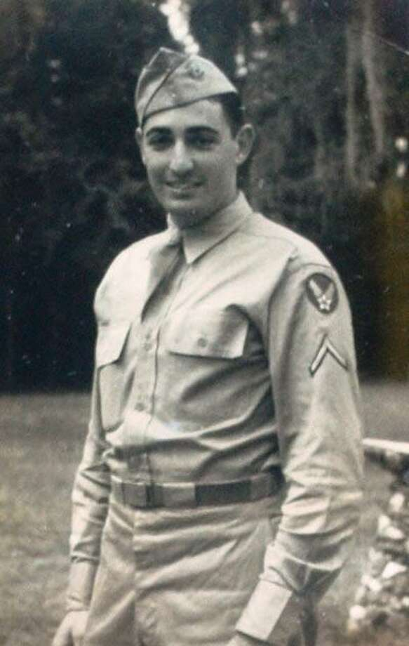 Herb Rosencrans served in the Army in World War II and wrote many letters home. Those letters will be dramatized at the Greenwich Historical Society on Tuesday and Thursday. Photo: / Contributed