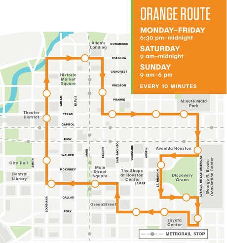 GreenLink Orange Route