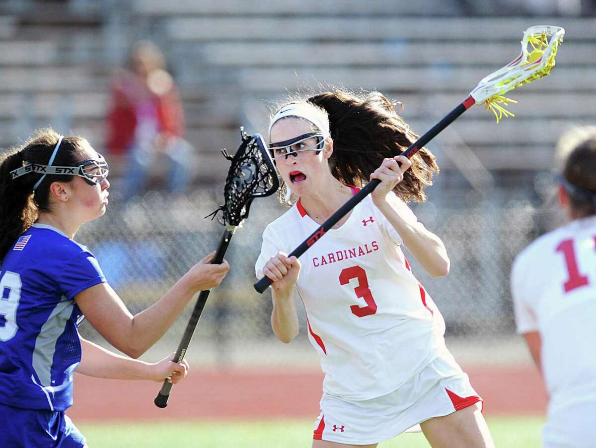 Greenwich's Grace Fahey has committed to play lacrosse at Davidson.