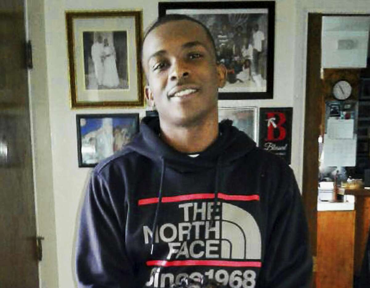 This March 18, 2018 photo, courtesy of the family, shows Stephon Clark at 5:20 p.m. in the afternoon before he died in a hail of police gunfire in the backyard of his grandmother Sequita Thompson's home in Sacramento, Calif. On Monday, March 26, Thompson called for changes in the way police confront suspects, such as sending in a police dog, using a Taser, or aiming for an arm or leg when shots are fired.