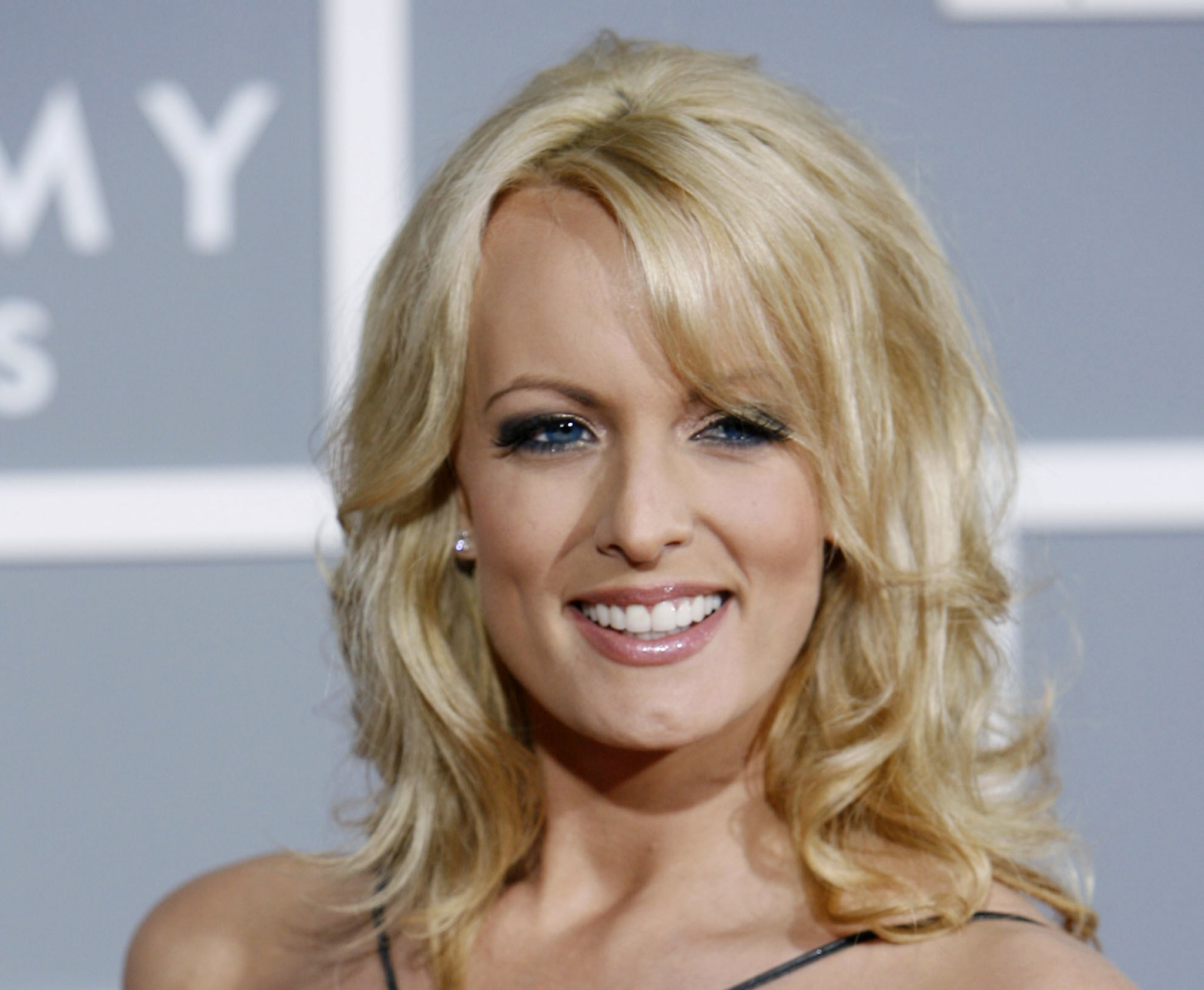 President Donald Trump cast doubts on a sketch released by porn star Stormy Daniels purporting to be an image of a man who threatened her and her daughter