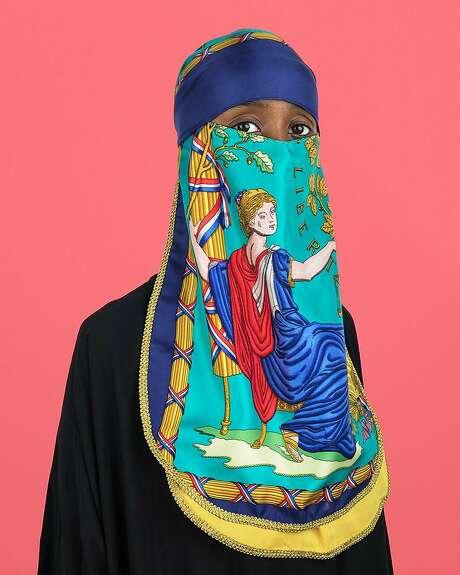 "Wesaam Al-Badry, ""Hermes #V"" (2018) Photo: Jenkins Johnson Gallery"