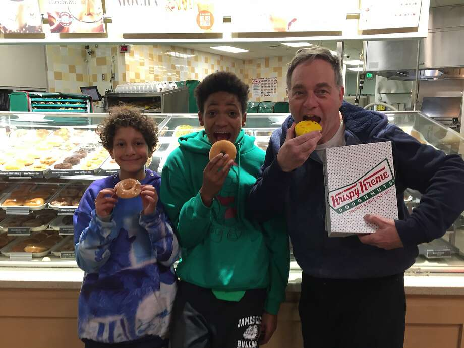 Courtesy Kevin Fisher-Paulson Photo: Doughnuts: The Dinner Of Champions.
