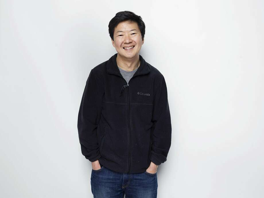 """FILE - In this Jan. 27, 2015 file photo, actor Ken Jeong poses for a portrait during the Sundance Film Festival in Park City, Utah. Jeong says that much of the inspiration for his memorably angry Mr. Chow character in """"The Hangover"""" movie was a reaction to his wife's fight against breast cancer at the time. He explained in a short film to accompany the upcoming PBS documentary, """"Cancer: The Emperor of All Maladies,"""" that he was caring for his wife, Tran Ho, and their one-year-old twins as she was undergoing chemotherapy. """"Tran encouraged me to do it,"""" Jeong said in an interview. """"She thought I was suffering from caregiver burnout."""" (Photo by Victoria Will/Invision/AP, File) Photo: Victoria Will / Associated Press"""