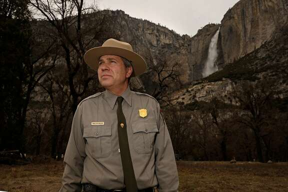 Michael Reynolds is the new Superintendent of Yosemite National Park, Calif., as seen on Thurs. Mar. 29, 2018.