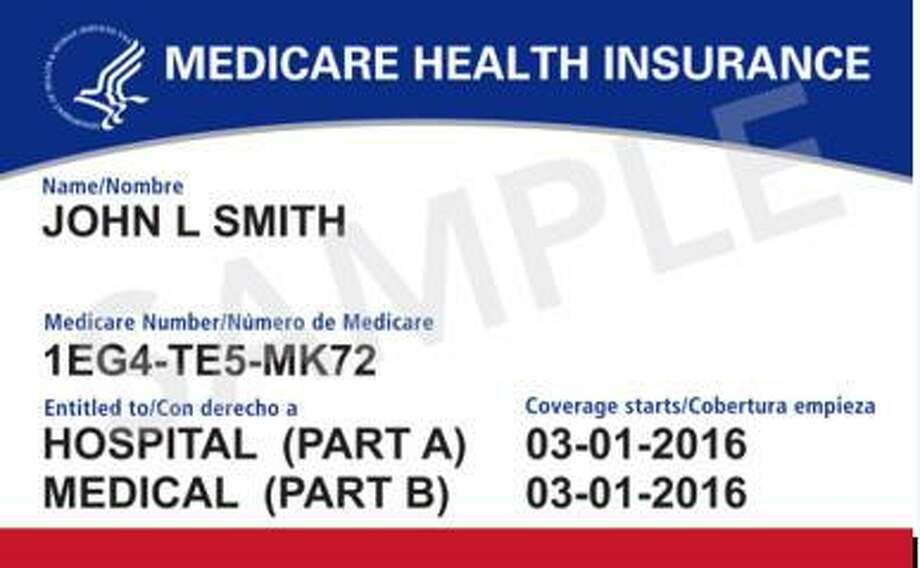 A new Medicare card that is being issued for those on Medicare. Photo: Toni King / Toni King