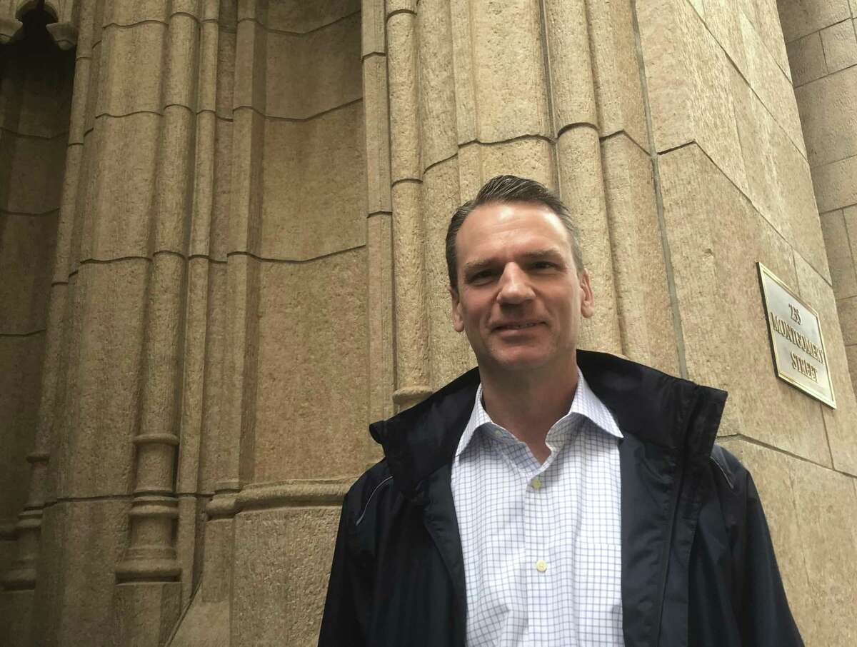 S.F. developer Alastair Mactaggart is promoting an Internet privacy ballot initiative.