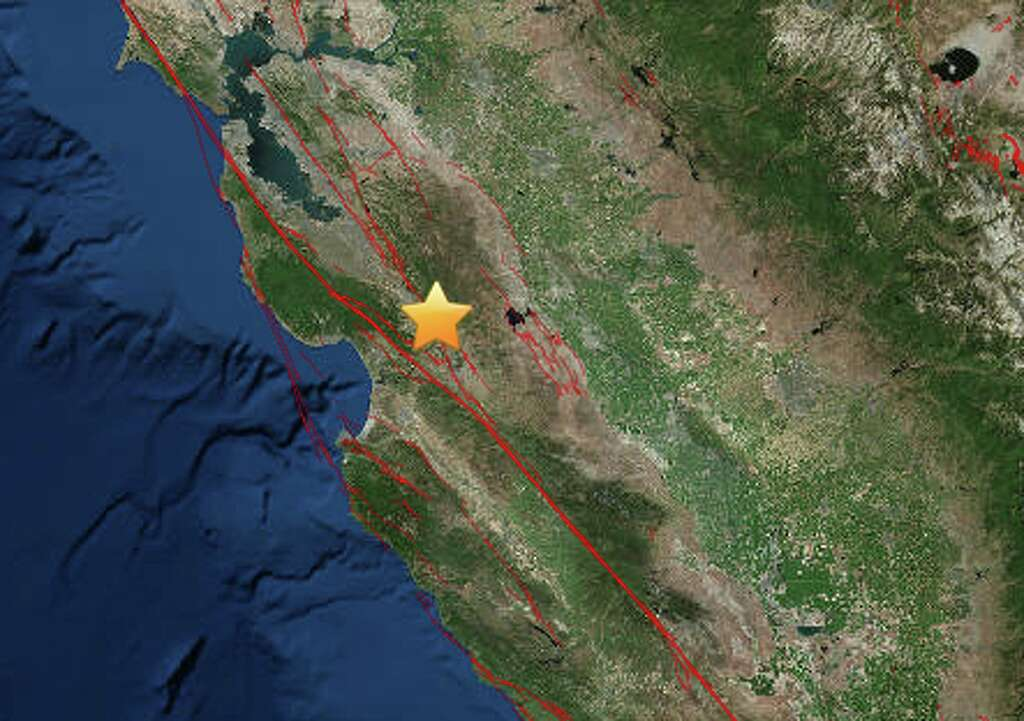 The 27 magnitude quake struck at 205 am