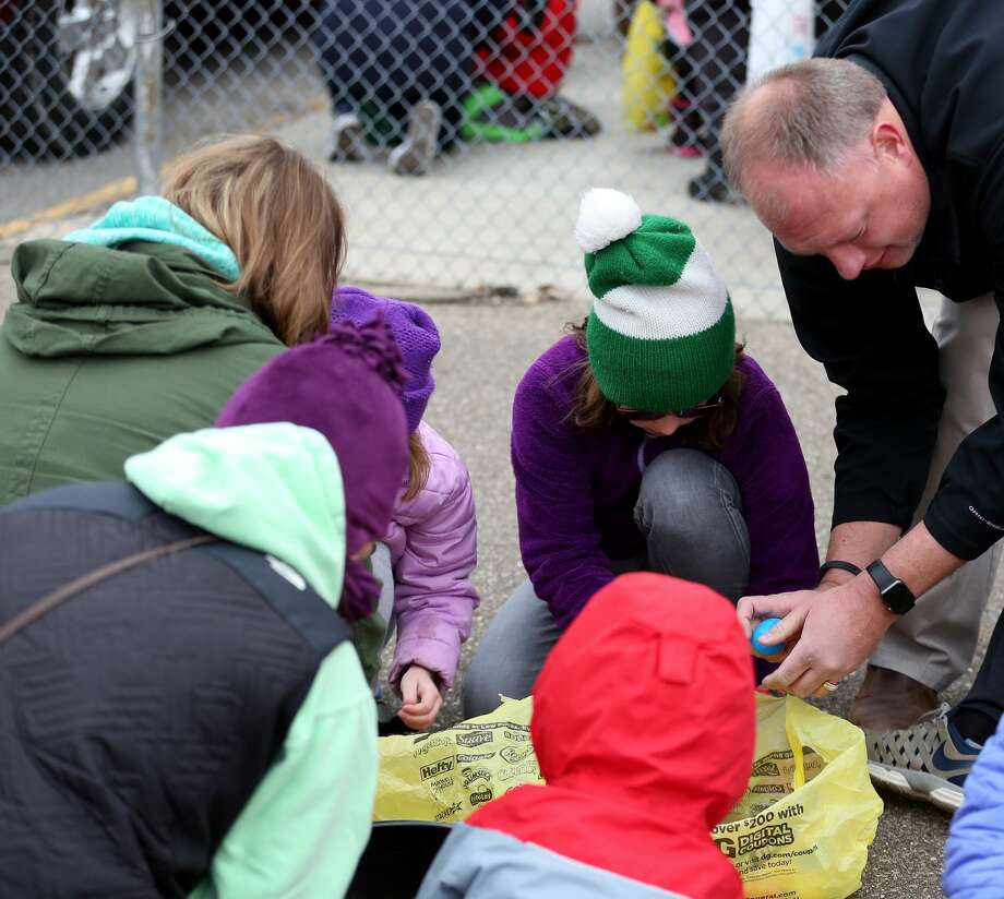 Pigeon Easter Egg Hunt 2018 Photo: Paul P. Adams/Huron Daily Tribune
