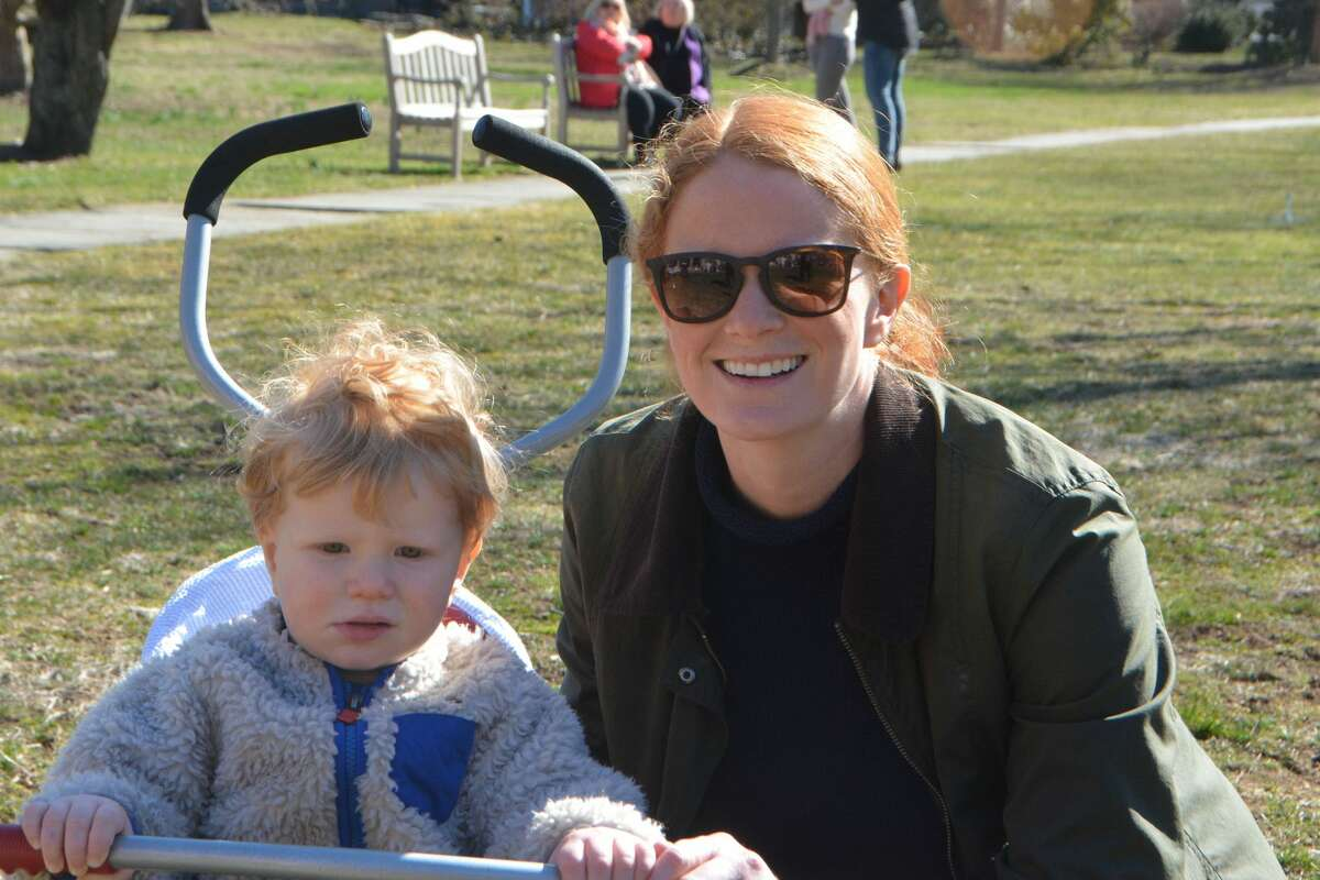 The twelfth annual Pequot Library Easter Egg Roll took place on March 31, 2018 in Southport. Kids decorated eggs, danced, met a live bunny and more. Were you SEEN?