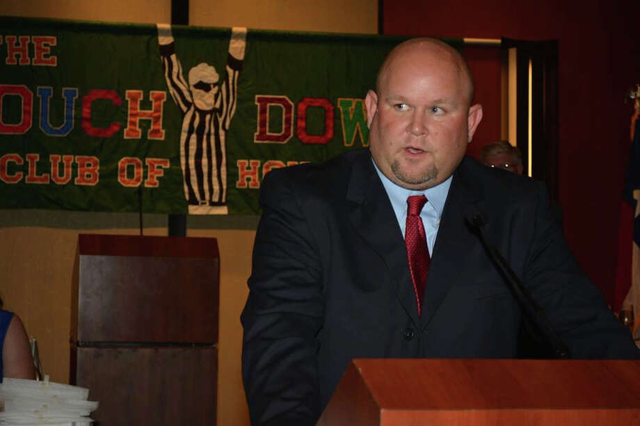 New Pearland head football coach Ricky Tullos is gradually putting the pieces of the puzzle together at the school.  (Photo courtesy of Neal Farmer, Houston Touchdown Club). / Neal Farmer, Touchdown Club