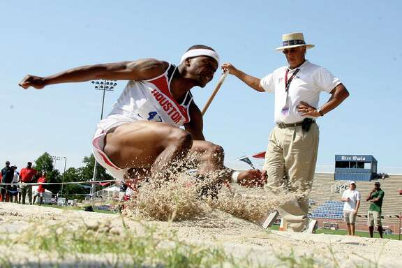 After concluding his career at the University of Houston, Chris Carter became a track coach at Atascocita High School.
