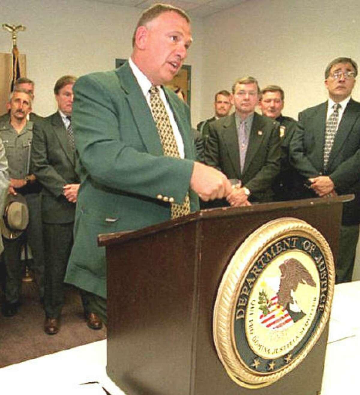 Judge Gary Sharpe in May 1997. (Courtesy Binghamton Press and Sun-Bulletin)