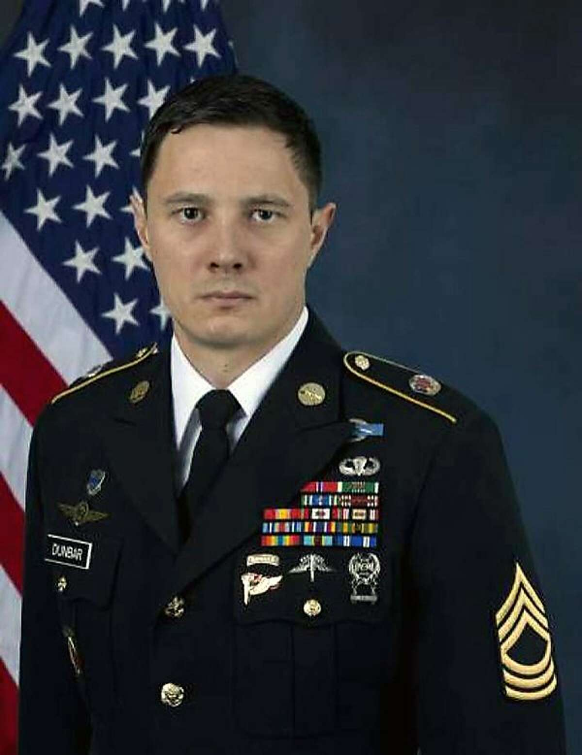 Jonathan J. Dunbar Austin Army Master Sergeant Died: 4/30/2018 Syria