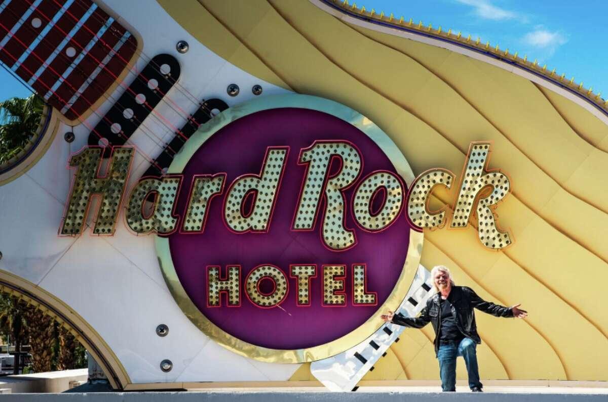 Richard Branson's Virgin Hotels announced it is buying the Hard Rock Hotel in Las Vegas
