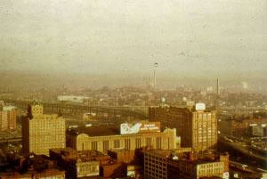 Overlooking Hartford, Conn., in 1972. Photo: Contributed Photo / DEEP / Contributed Photo / Connecticut Post Contributed