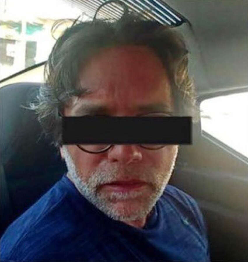 Keith Raniere is pictured following his arrest by Mexican federal authorities in March 2018. (Photo courtesy Frank Parlato/ArtVoice)