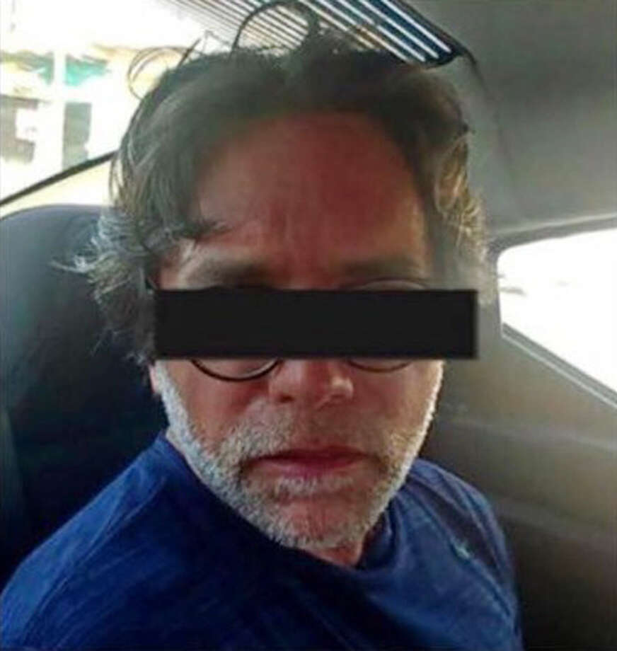 Keith Raniere is pictured following his arrest by Mexican federal authorities in March 2018. (Photo courtesy Frank Parlato/ArtVoice) Photo: Photo Courtesy Frank Parlato/ArtVoice