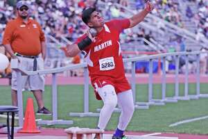 Former Martin thrower Sergio Tijerina saw his season at UTRGV come to an end Thursday due to cancellations from the coronavirus.