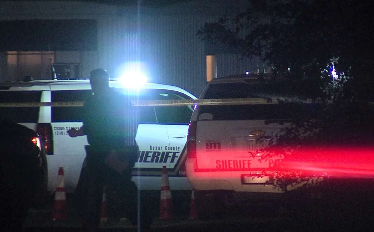 Two people are dead after Bexar County Sheriff's deputies responded to a shooting Sunday morning April 1, 2018, on the South Side. Deputies engaged a gunman after they found a woman had been shot twice when they arrived on scene. That gunman died as a result and the female victim later died of her wounds.