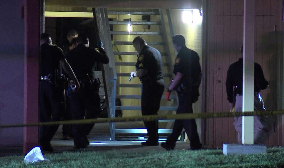 A man is in critical condition after being shot at Northwest Side hotel Saturday night March 31, 2018, according to San Antonio police. Photo: 21 Pro Video